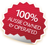 100% Aussie Owned & Opperated