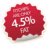 FitChips are only 4.5% fat